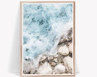 Beach Photography,Beach Print,Beach Decor,Coastal Art,Coastal Decor,Ocean Water,Wave Art,Beach Poster,Ocean Print,Ocean Wall Art,Wall Prints