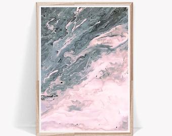 Marble Prints,Marble Digital Art,Modern Mable Art,Marble Poster,Pink Marble Decor,Pink Marble Art,Marble Printable Art,Marble Large Poster