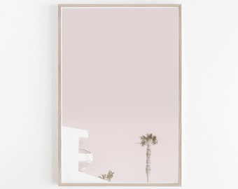 Pastel Wall Art, Pastel Decor, Pink Wall Art, House Print, Photography, Pink and White, Wall Art, Art Print, Digital Print, Instant Download