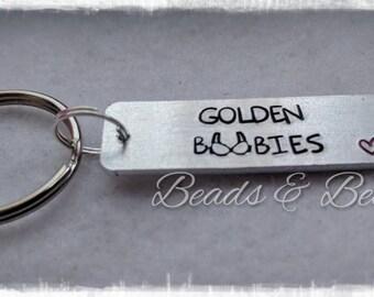Golden Boobies, Bronze Boobies, Silver Boobies, Platinum Boobies, Diamond Boobies, Breastfeeding Keyring, Breastfeeding Keychain