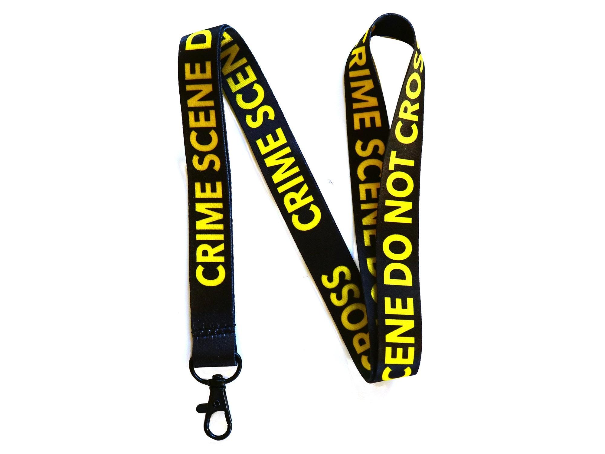 Forensic Necktie Do Not Cross Crime Scene
