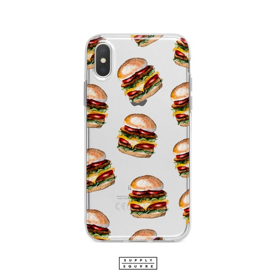 Double Cheeseburger 2 Pattern iphone case