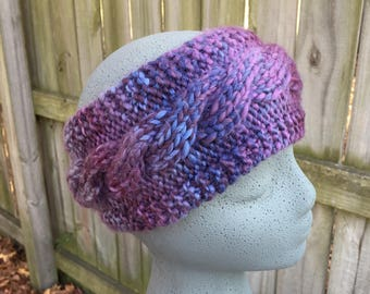 Chunky Cabled Earwarmer
