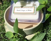 Basil Sage and Mint 100 Soy Wax Clamshell Melts