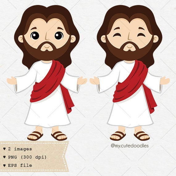 Jesus christ clipart jesus clip art son of god vector art ...