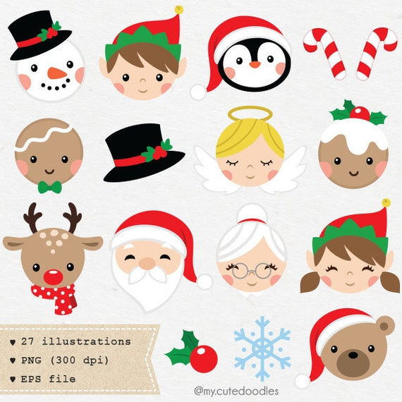 Cute Christmas Clipart Holiday Vector Elf Png Cute Gingerbread Theme Christmas Decoration Santa Stocking Images Sugar Cane C043