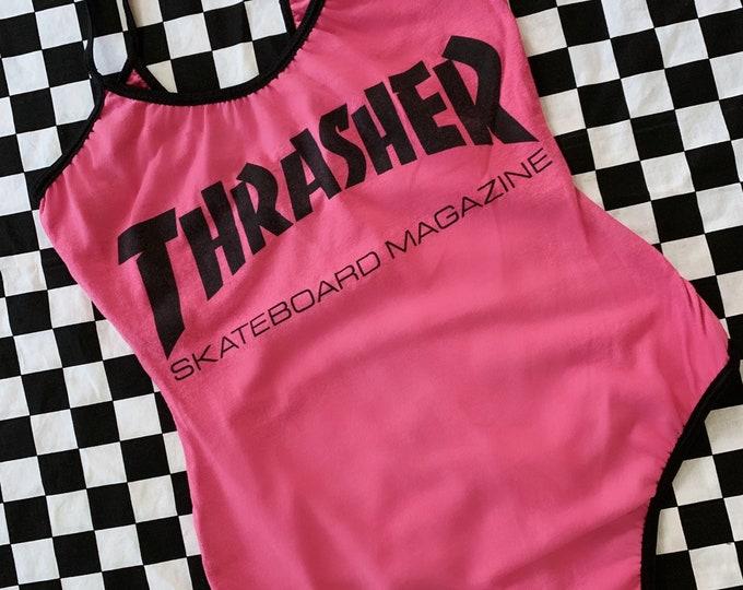 Pink Thrasher Mag Bodysuit