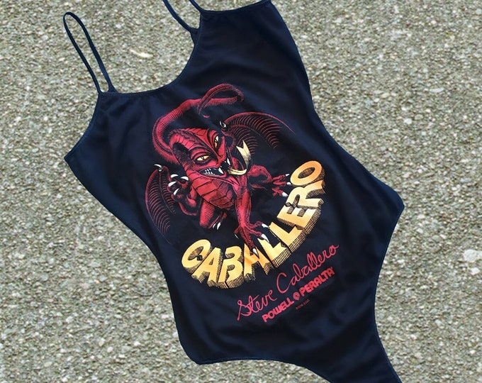 Cab Dragon Bodysuit (Black)