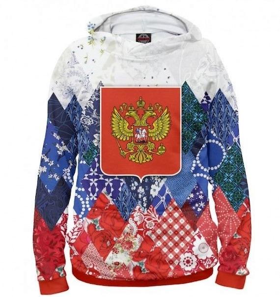 Men/'s Sweatshirt RUSSIAN COAT OF ARMS
