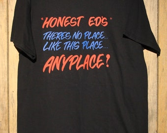 dc67ac4030e Vintage Honest Ed s Toronto Store T-Shirt NWOT Hard To Find Defunct History  +