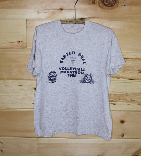Vintage Easter Seal Volleyball Marathon 1995 Singl