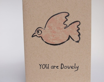 Greeting Card - You Are Dovely