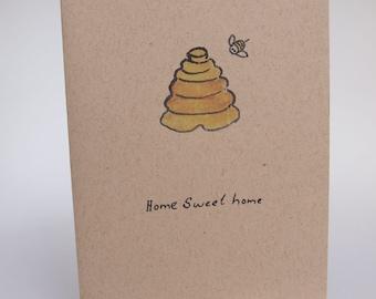 Greeting Card-  Home sweet Home