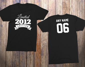 6 Year Old Birthday Shirt Or Hoodie 2012 Kids Limited Edition 6th Youth Celebration