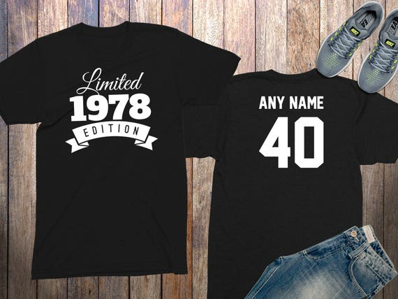 40th Birthday Gifts For Men Shirts 40 Year Old