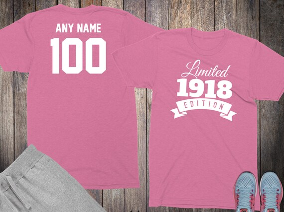 100th Birthday Gifts For Women Shirts 100 Year Old