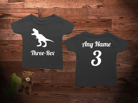 Items Similar To 3 Year Old Dinosaur Birthday Shirt Three Rex Niece Nephew Son Daughter Gift T Dino On Etsy