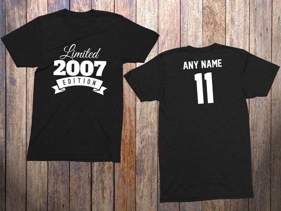11 Year Old Birthday Shirt Or Hoodie 2007 Kids