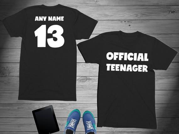 Teenager Birthday Shirt 13 Year Old Girl