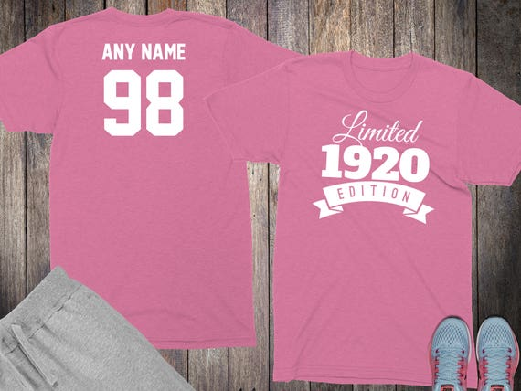 98th Birthday Gifts For Women Shirts 98 Year Old