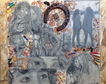 Patchwork of portraits on Commission, patchwork of portraits on commission