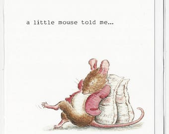Mouse Tales , greetings , celebration , birthday card