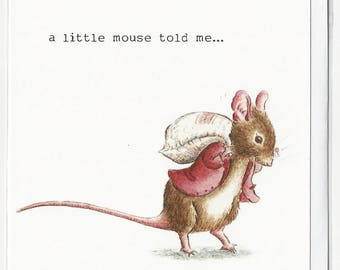 Mouse tales ,greetings, celebration , Birthday card