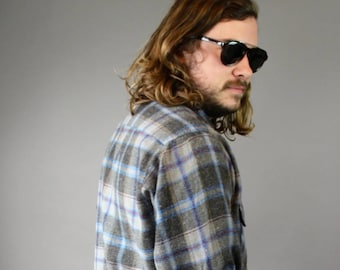 Vintage Men's 70's Flannel Shirt