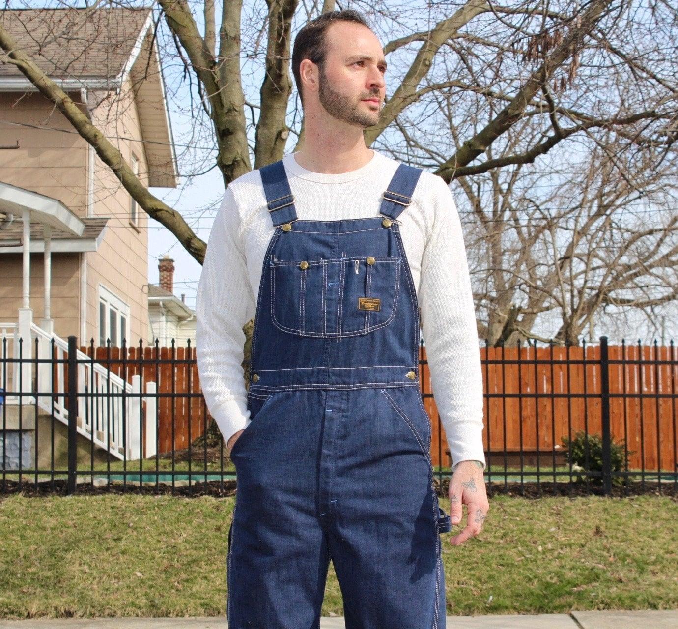 Vintage Overalls & Jumpsuits Vintage Denim Overalls $5.50 AT vintagedancer.com