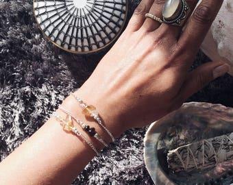 July birthstone, carnelian bracelet, Boho jewellery, boho bracelet ideas, healing crystals beaded bracelet, healing crystal gift, yoga lover