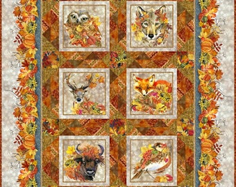 Thanksgiving Quilt Etsy