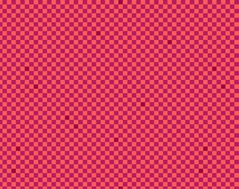 Yardage, Libs Elliott Wildside Fast Times in Cerise for Andover Fabrics, Modern Fabric, Modern Quilt