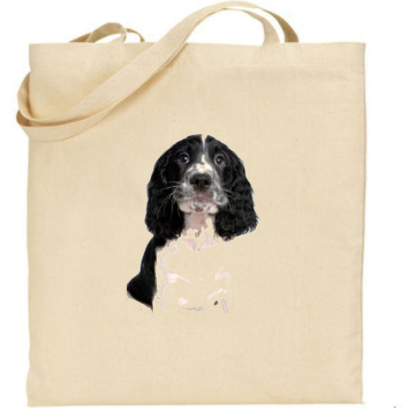 Bernard Dog In The Snow Tote Shopping Bag For Life St