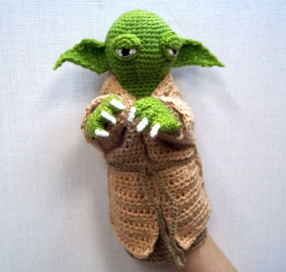 Baby Yoda Amigurumi inspired by the new Star wars series The ...   543x570