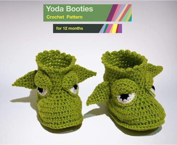 Baby Yoda Booties Pattern PDF Star Wars Crochet Pattern Etsy Amazing Star Wars Crochet Patterns