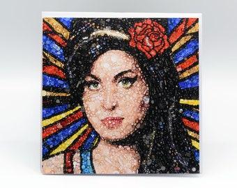 Amy Winehouse Art Card - Blank Inside