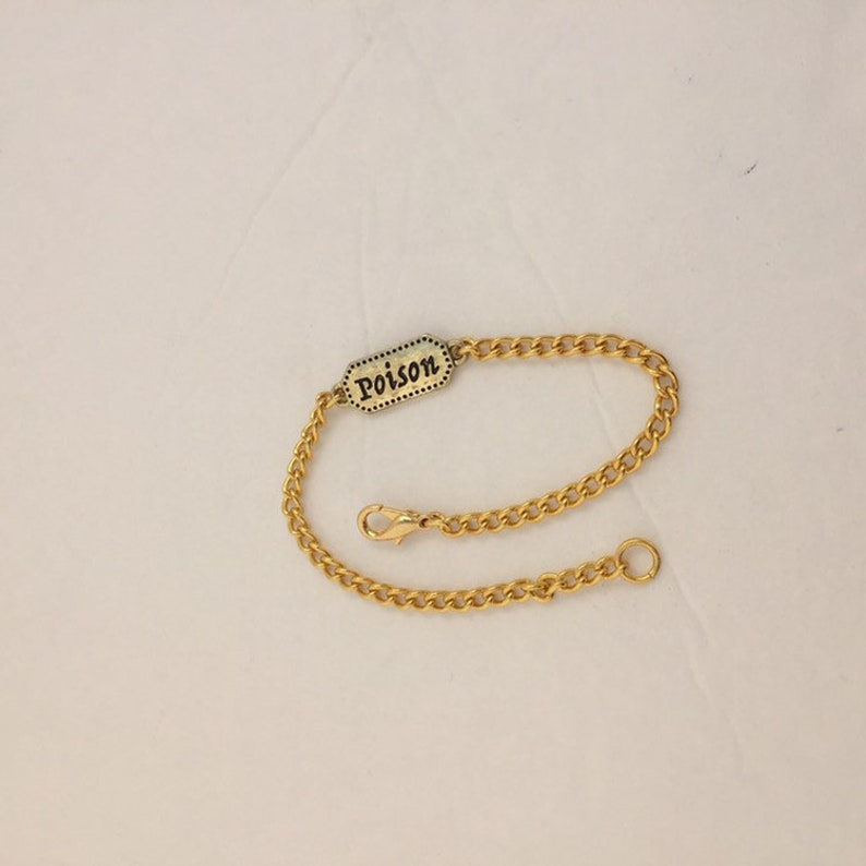 Poison bracelet