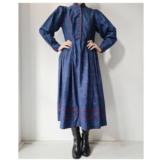 Isola trachten couture maxi dress prairie