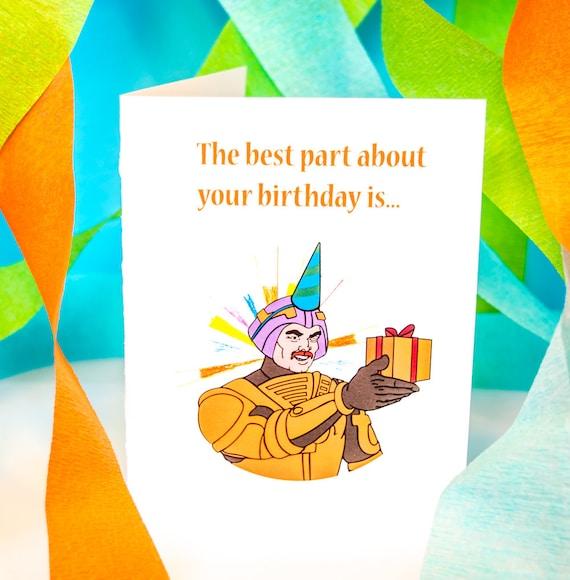 He Man Birthday Card Etsy
