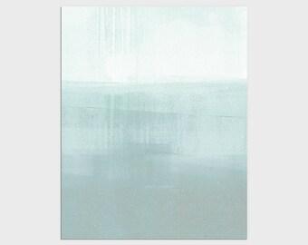 Blue/Green Abstract Art