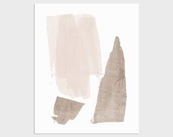 Neutral Abstract Art