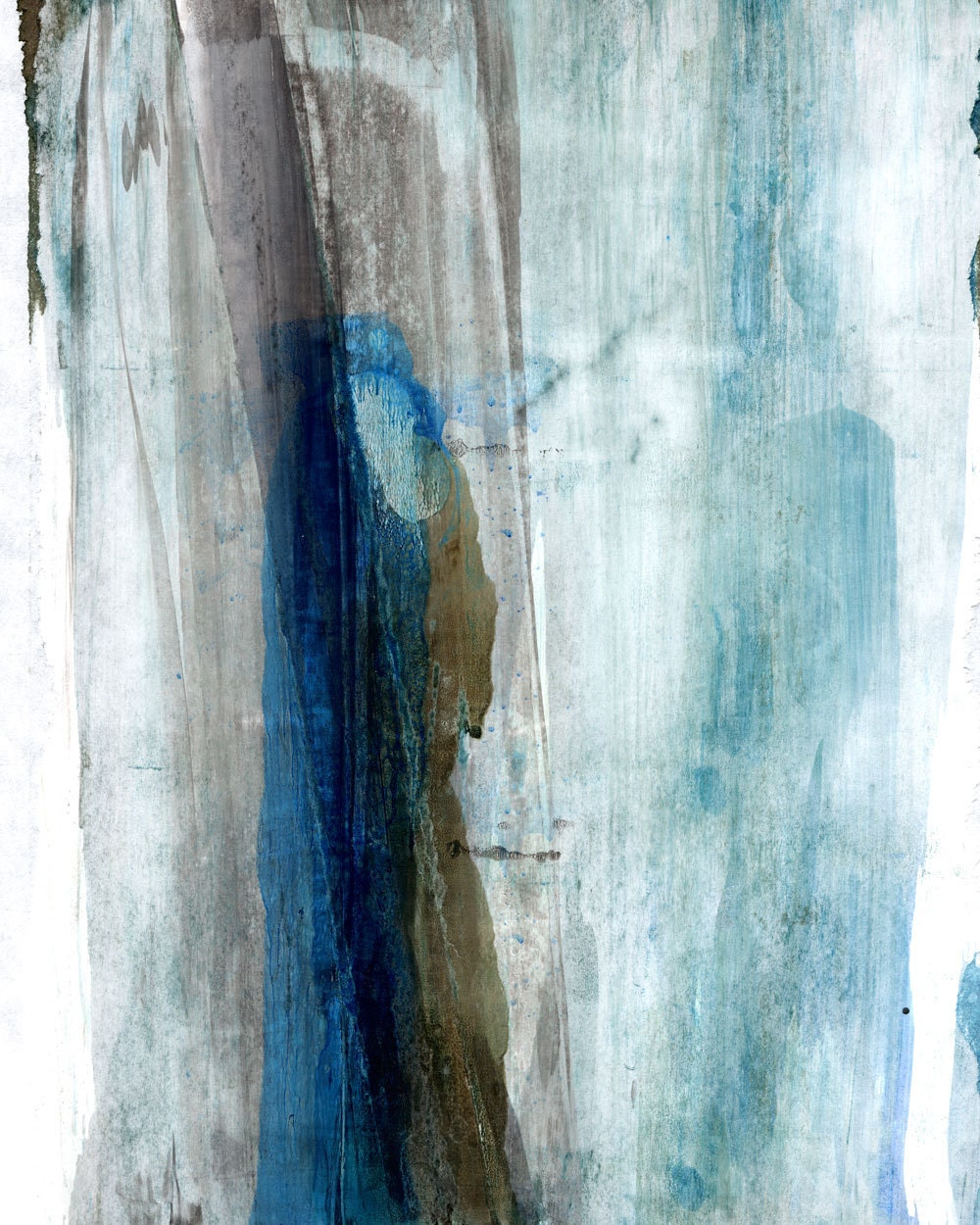 Dark Blue Abstract Set