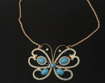 Butterfly necklace 1970