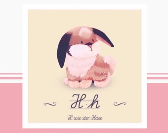 Tier-ABC - H wie Hase