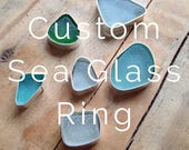 Custom designed Sea glass...