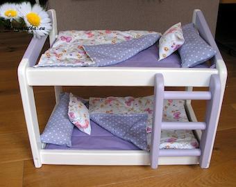 Puppenbett Etagenbett : Puppenbett etagenbett einzel pink günstig