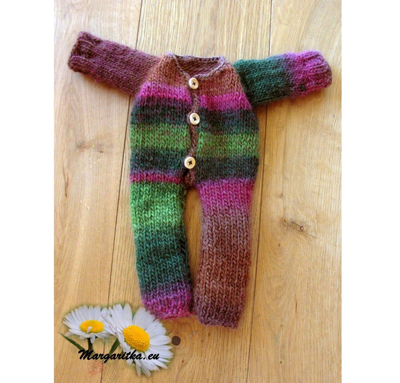 de887dc4b6fe Large doll onesie body overall Waldorf doll clothes baby