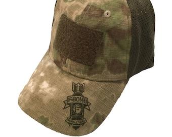 ec2927ae9bcb8 F-Bomb Morale Gear - Tactical Operators Cap   Hat