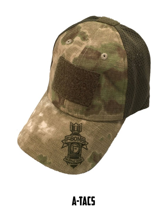 F-Bomb Morale Gear Tactical Operators Cap   Hat  f30560ff6a9