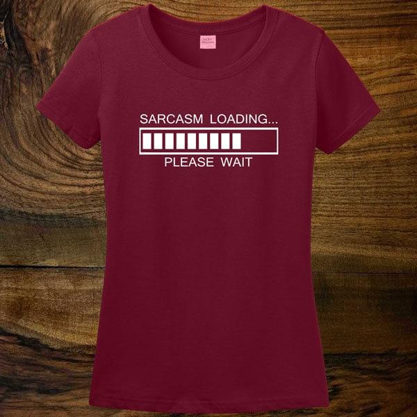 2008b9d3c Sarcasmo de carga tee camisa de t divertido t-shirt para